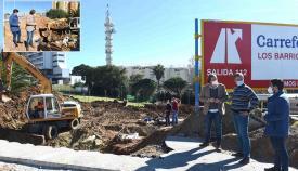 Emalgesa mejora la tubería de abastecimiento en calles de Algeciras