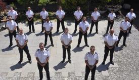 El comisario encabeza el grupo de personal que ha ascendido en la RGP