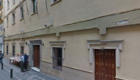El Ayuntamiento de Algeciras rehabilita la cornisa del antiguo Hospital Militar