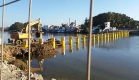 El Puerto pide a Interior que limpie las barreras del Guadarranque