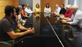 Un momento de la reunión celebrada en Algeciras