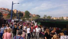 El mercadillo de Algeciras se extenderá este martes 5 hasta las seis