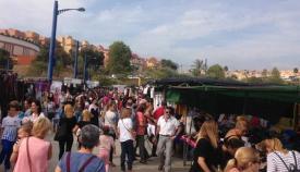 El Parque Feria de Algeciras acoge este martes el mercadillo