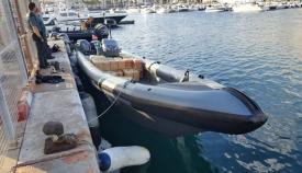 Un fallecido tras una colisión de una lancha con Aduanas en el Estrecho