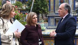 Landaluce respalda la concentración en apoyo a las Fuerzas de Seguridad