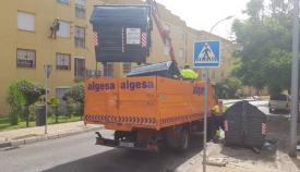 El PSOE de Algeciras, preocupado ante la recogida diurna de basura