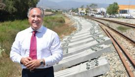 Landaluce critica un nuevo retraso en la Algeciras-Bobadilla