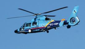 Fallece un funcionario de Aduanas al caerse el helicóptero tras una persecución