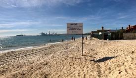 La última fase del trasvase de arena en El Rinconcillo, desde mañana