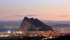 Una imagen de La Línea y Gibraltar. Foto: NG