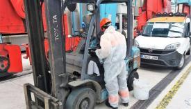 La SAGEP comienza a realizar test rápidos a los trabajadores del Puerto