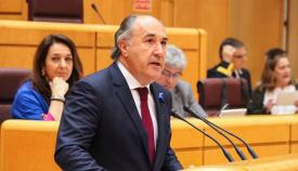 Landaluce lamenta el 'castigo' a la comarca con otros sitios de España