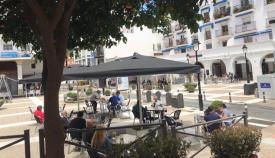 La Policía levanta diez sanciones en Algeciras por incumplir el uso de las terrazas