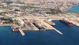 El puerto licita la construcción de un nuevo control de acceso en Campamento