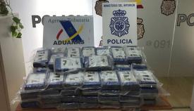 Intervienen 200 kilos de cocaína en un contenedor en el Puerto de Algeciras
