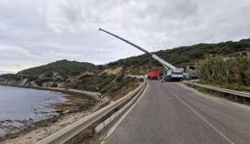 El alcalde agradece al Puerto la retirada de las bateas de mejilloneras