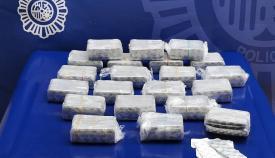 Intervenidos 12.600 comprimidos de clonazepan en el puerto de Algeciras