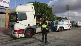 El 88% de los camiones y autobuses controlados en Algeciras son legales