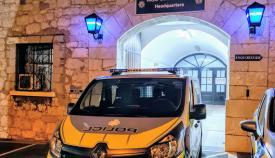 Vehículo de la Policía de Gibraltar. Foto NG