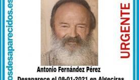 El hombre era conocido en el municipio como 'Tapia'. Foto SOS Desaparecidos