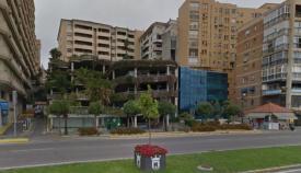 El Ayuntamiento de Algeciras recibe el parking Escalinata para su cerramiento