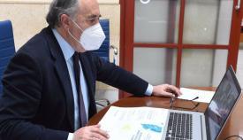 Landaluce pide ayuda ciudadana para esclarecer los incendios de ayer