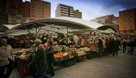 Los mercados municipales de Algeciras, cerrados este sábado