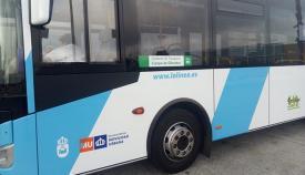 Imagen de archivo de un autobús del Consorcio de Transporte del Campo de Gibraltar
