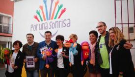 El candidato a presidente de la Junta de Andalucía, Juanma Moreno, visitó la comarca