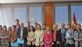 La firma del convenio se hizo en la Delegación de Gobierno de la Junta en Cádiz