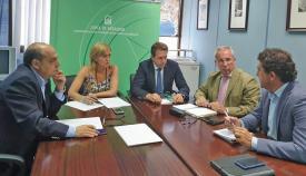 La subdelegada de la Junta en el Campo de Gibraltar presidió la reunión
