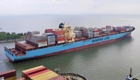 Maersk, alerta ante un buque que llega el domingo a Algeciras con un Covid