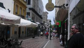 La calle Real de La Línea. Foto: NG