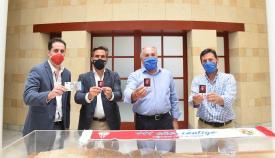 José Ignacio Landaluce anima a la afición a sacarse el Carnet Algecirista
