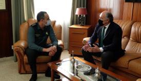 El alcalde de Algeciras visita las instalaciones de la Comandancia