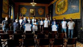 Landaluce felicita a los jóvenes medallistas del Bahía de Algeciras