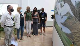 Inaugurada la exposición solidaria 'Arte Sonriente' en Algeciras