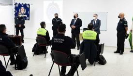 Landaluce, presente en un curso para inspectores de la Policía Local