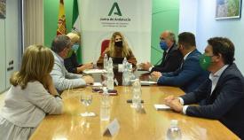 Landaluce se reúne con los delegados territoriales de la Junta de Andalucía