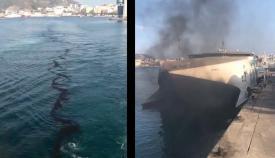 Capitanía Marítima de Algeciras paraliza el buque 'Jaume III'