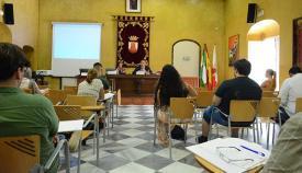 Imagen de uno de los cursos en el Palacio de los Gobernadores de San Roque