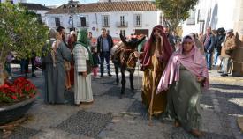 El Belén Viviente de San Roque atrae a muchos visitantes