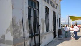 El Plan de Pintado en San Roque ha comenzado en la Policía Local