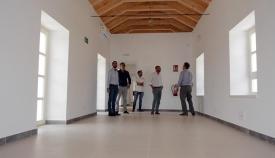Interior de la Casa Varela de San Roque, ya casi rehabilitada
