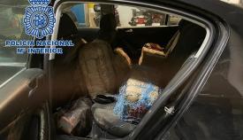 Un detenido en Algeciras por circular con 265 kilos de hachís