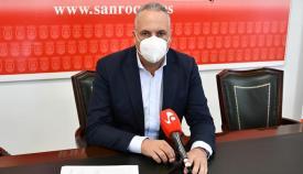 El alcalde de San Roque, Juan Carlos Ruiz Boix, en imagen de archivo
