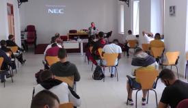 Un momento del curso de UGT en San Roque