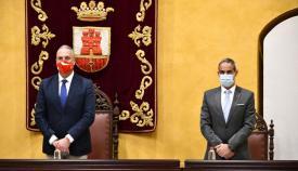 Ruiz Boix y Pacheco han co presidido la Junta Local de Seguridad de San Roque