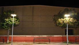 Sustituyen la iluminación de varias farolas a luces led en San Roque