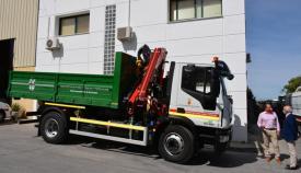 El nuevo camión adquirido por el Ayuntamiento de San Roque